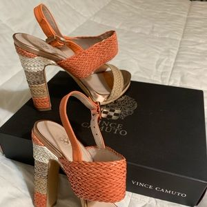 Vince Camuto heels, size 8